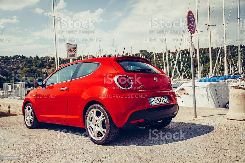 Alfa Romeo Mito 155cv Turbo stock photo