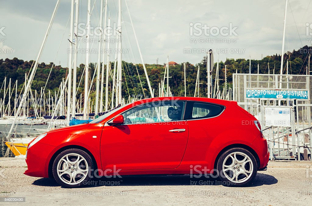 Alfa Romeo Mito 155cv Turbo stock photo