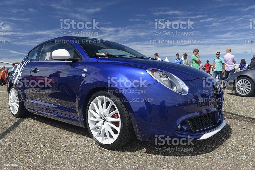 Alfa Romeo MiTo stock photo