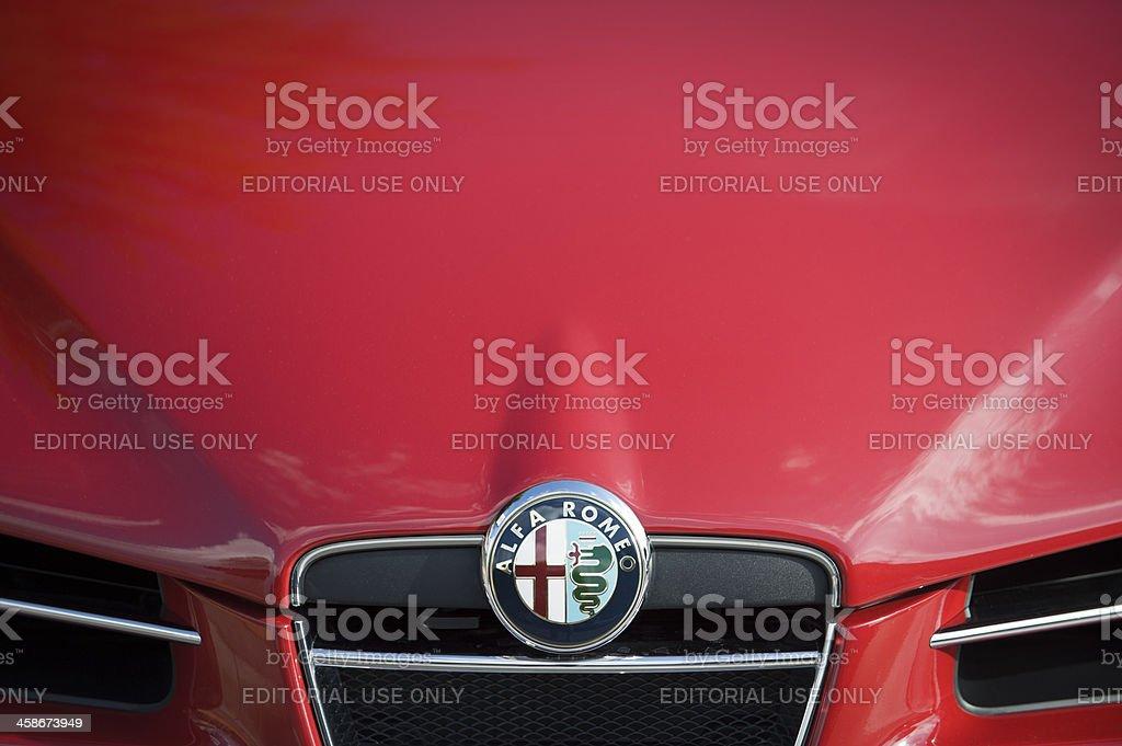 Alfa Romeo stock photo