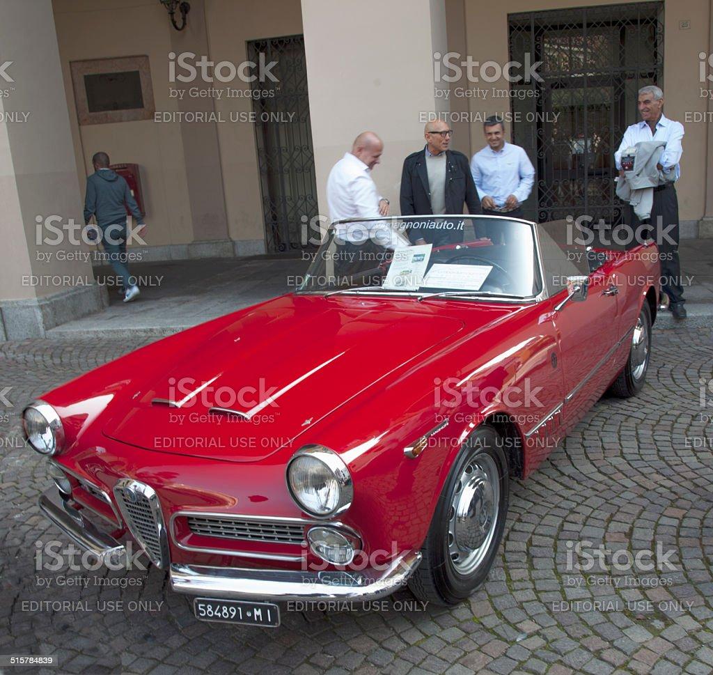 Alfa Romeo Spider stock photo