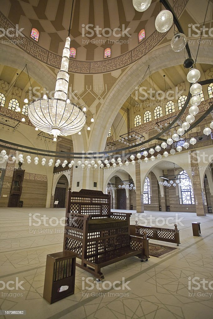 AlFateh Mosque Bahrain stock photo