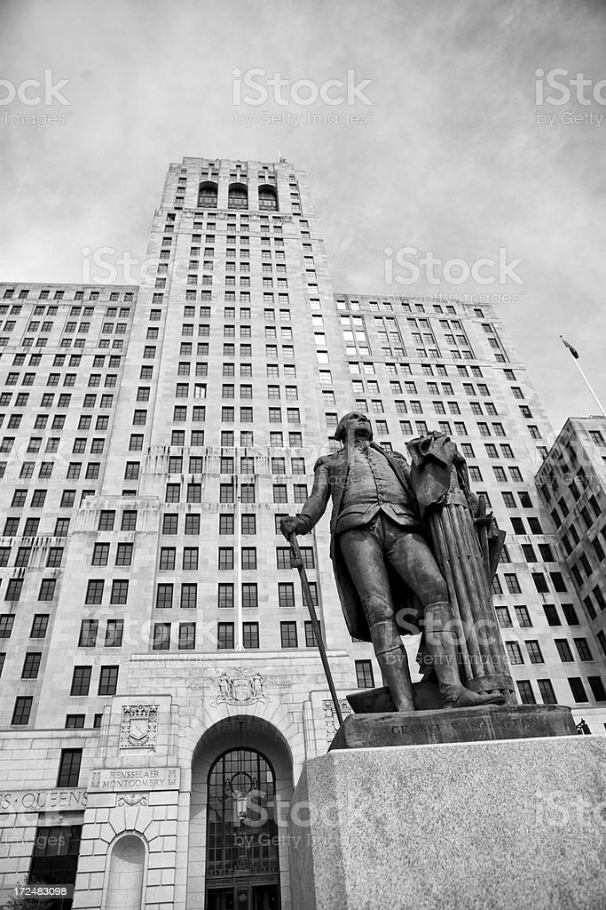 Alfred E. Smith Building, Albany, NY royalty-free stock photo