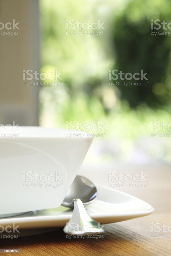 Alfresco Dining royalty-free stock photo