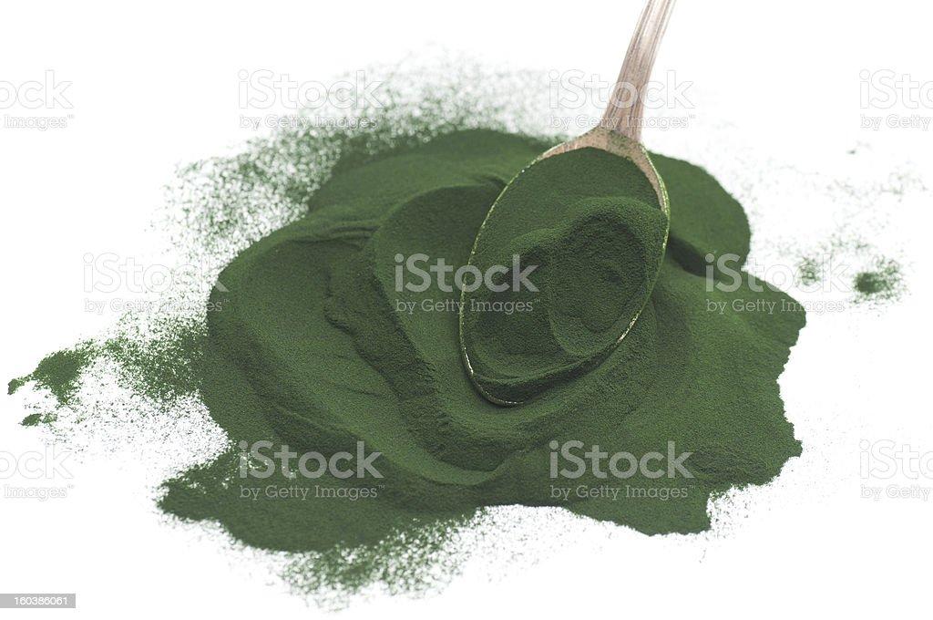 Algae Powder stock photo