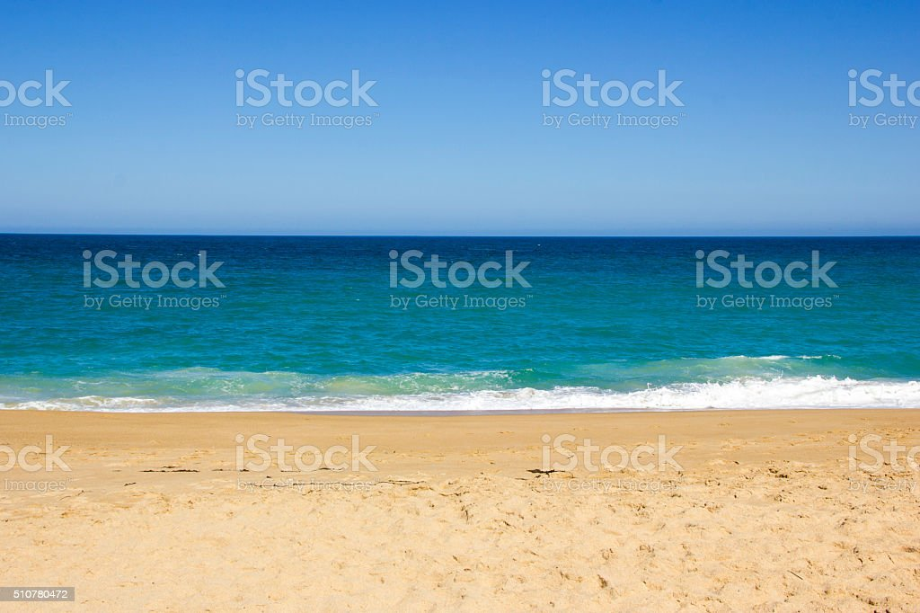 Algarrobo beach in Chile, South America stock photo