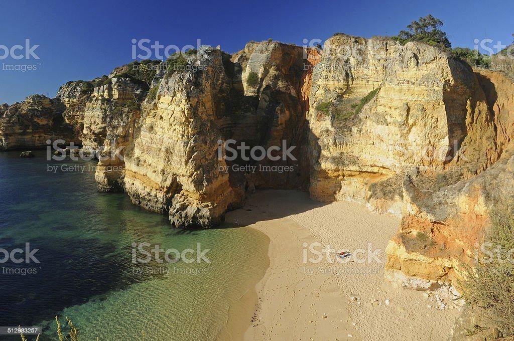Algarve Beach Bums royalty-free stock photo