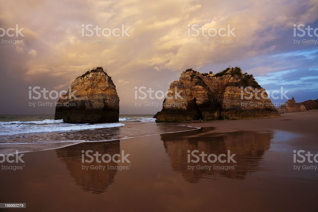 Algarve Beach stock photo