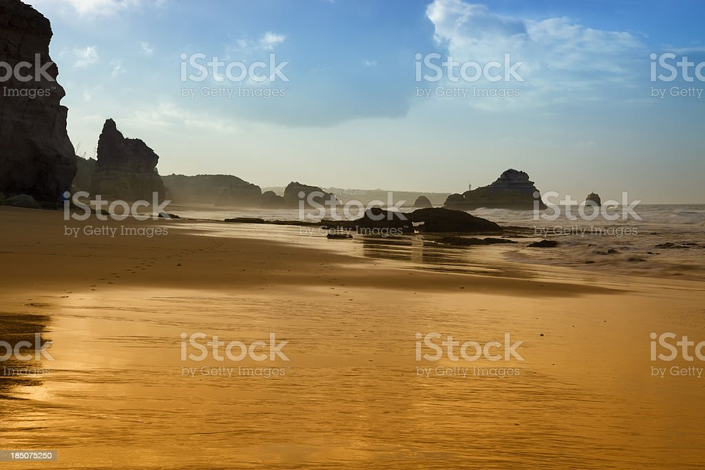 Algarve Beach royalty-free stock photo