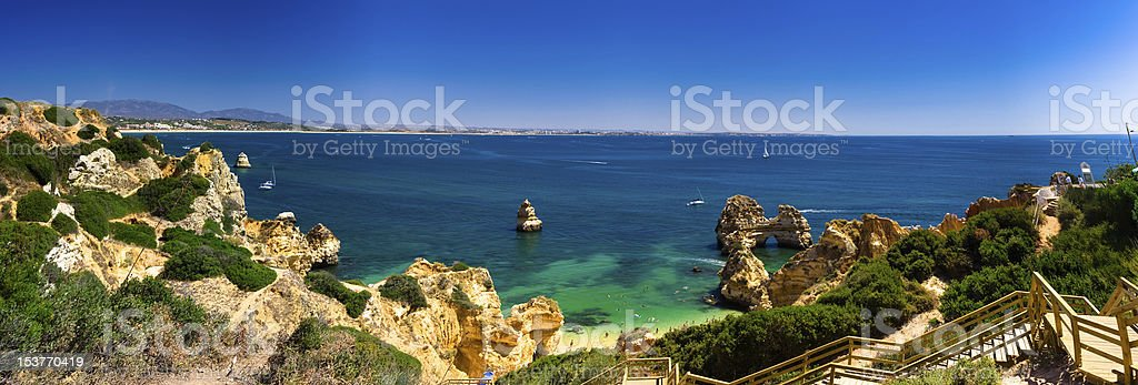 Algarve, part of Portugal, travel target, verry nice stock photo