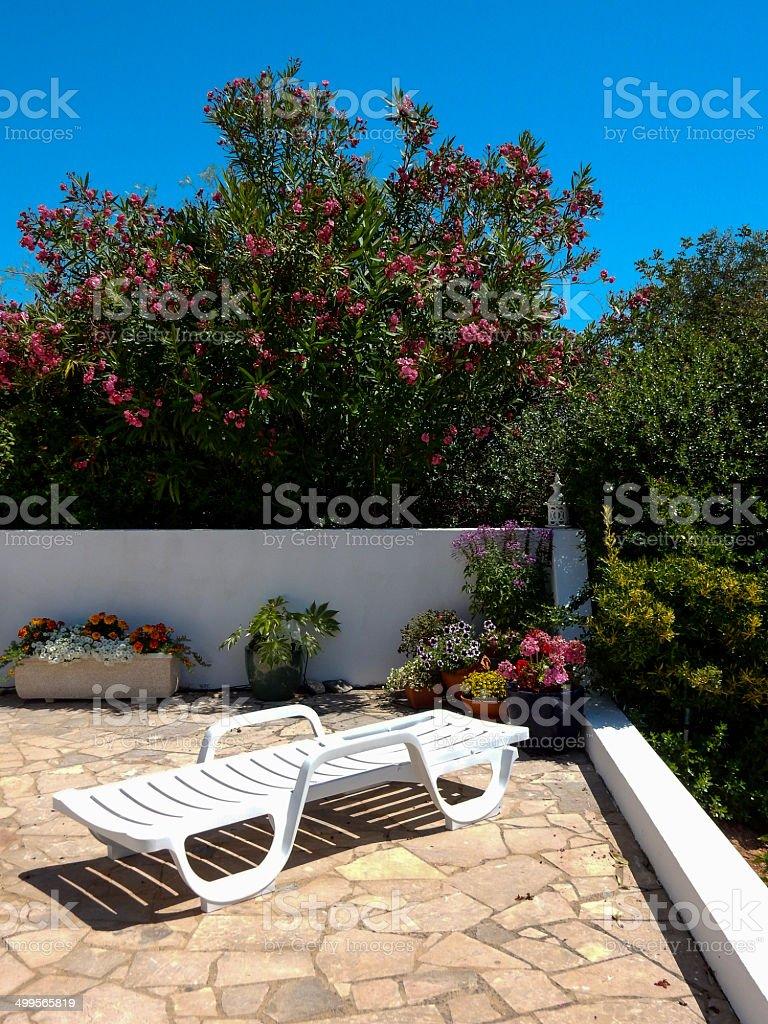 Algarvian garden royalty-free stock photo