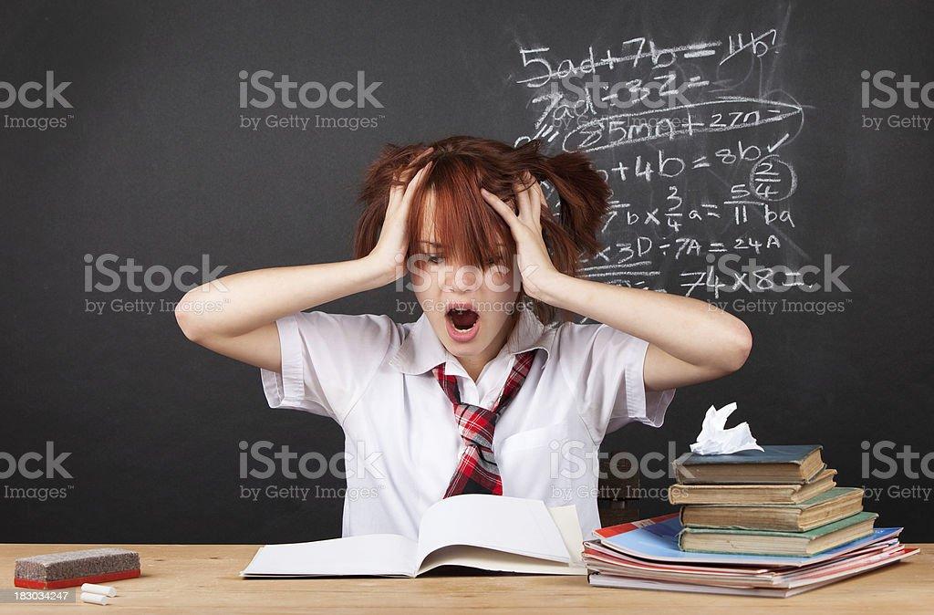 Algebra Hell royalty-free stock photo