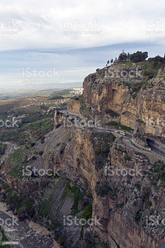 Algeria, Constantine Province, headland. royalty-free stock photo