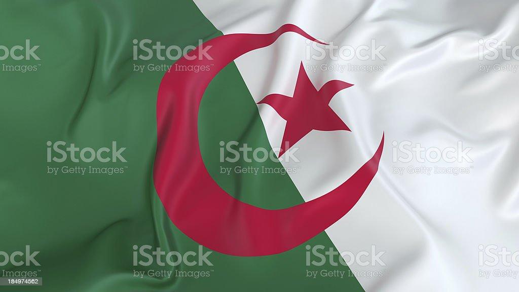Algeria Flag stock photo