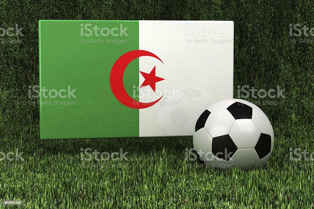 Algeria Soccer royalty-free stock photo