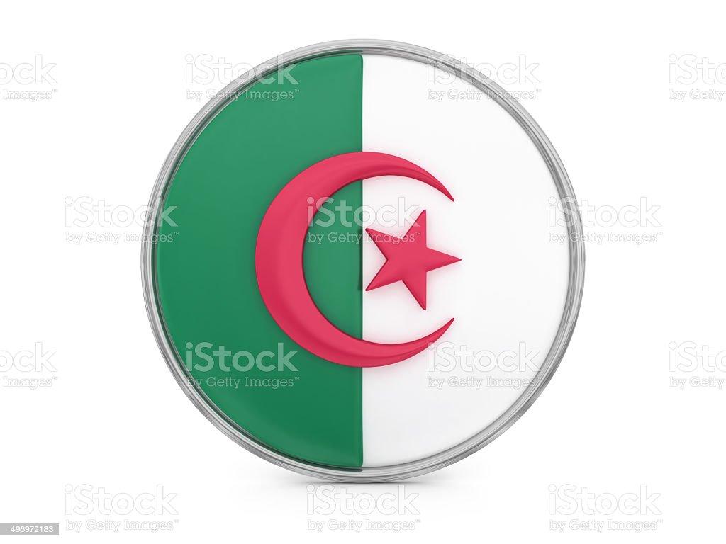 Algerian flag royalty-free stock photo