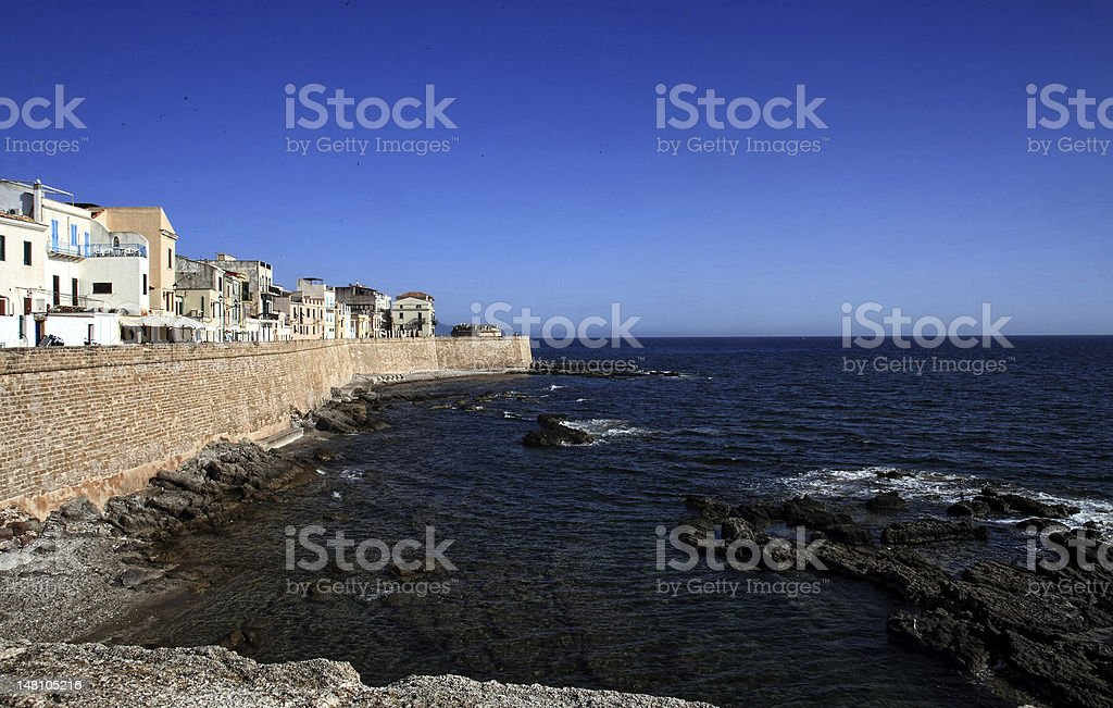 Alghero royalty-free stock photo