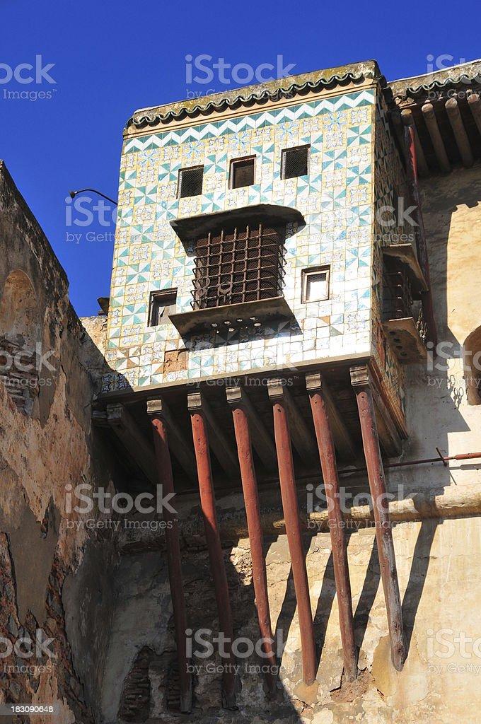Algiers, Algeria: Citadel, Dey Palace, balcony stock photo