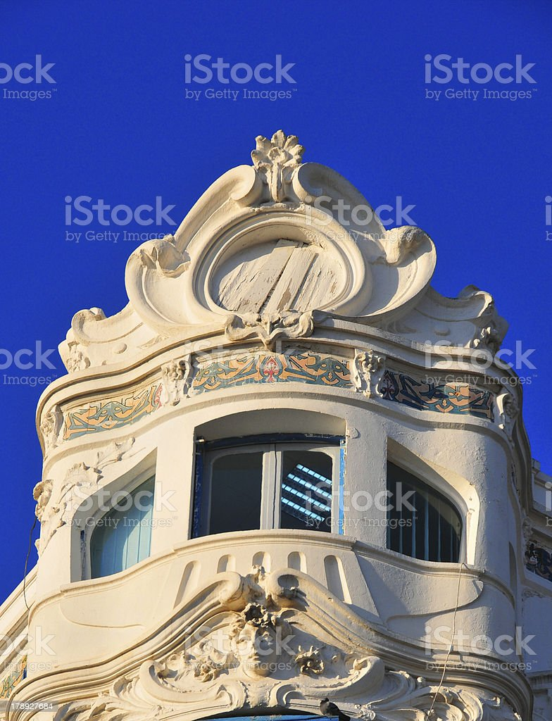 Algiers, Algeria: elegant art deco architecture stock photo