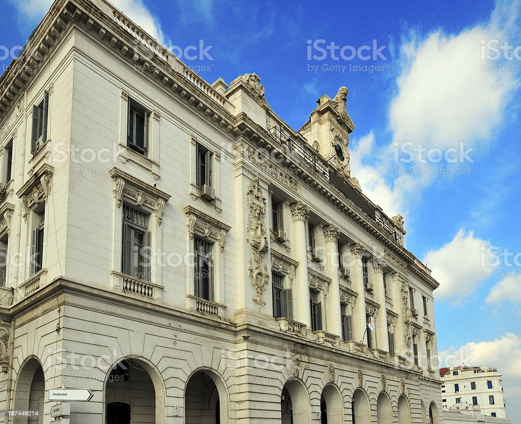 Algiers, Algeria: French colonial architecture - Consular Palace stock photo