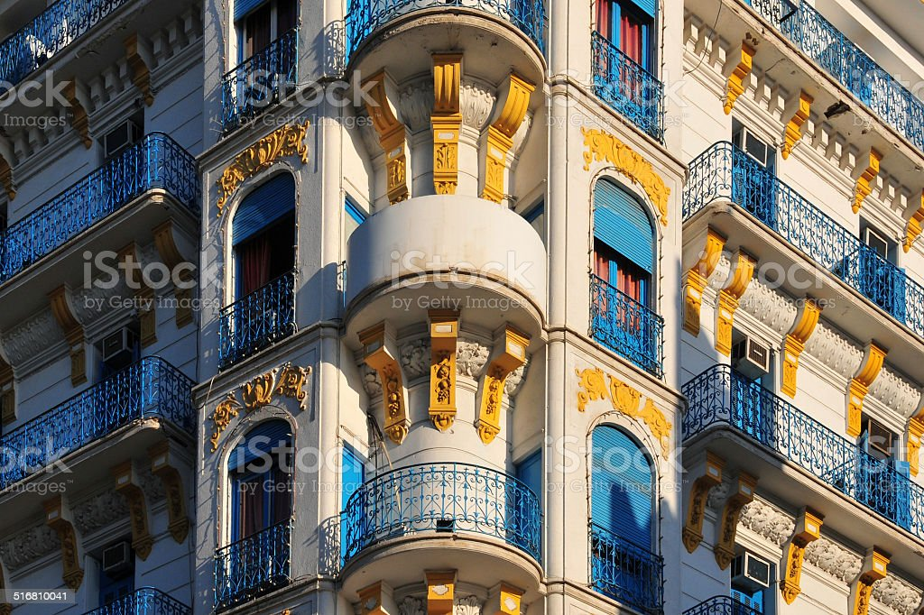 Algiers, Algeria: French colonial architecture stock photo