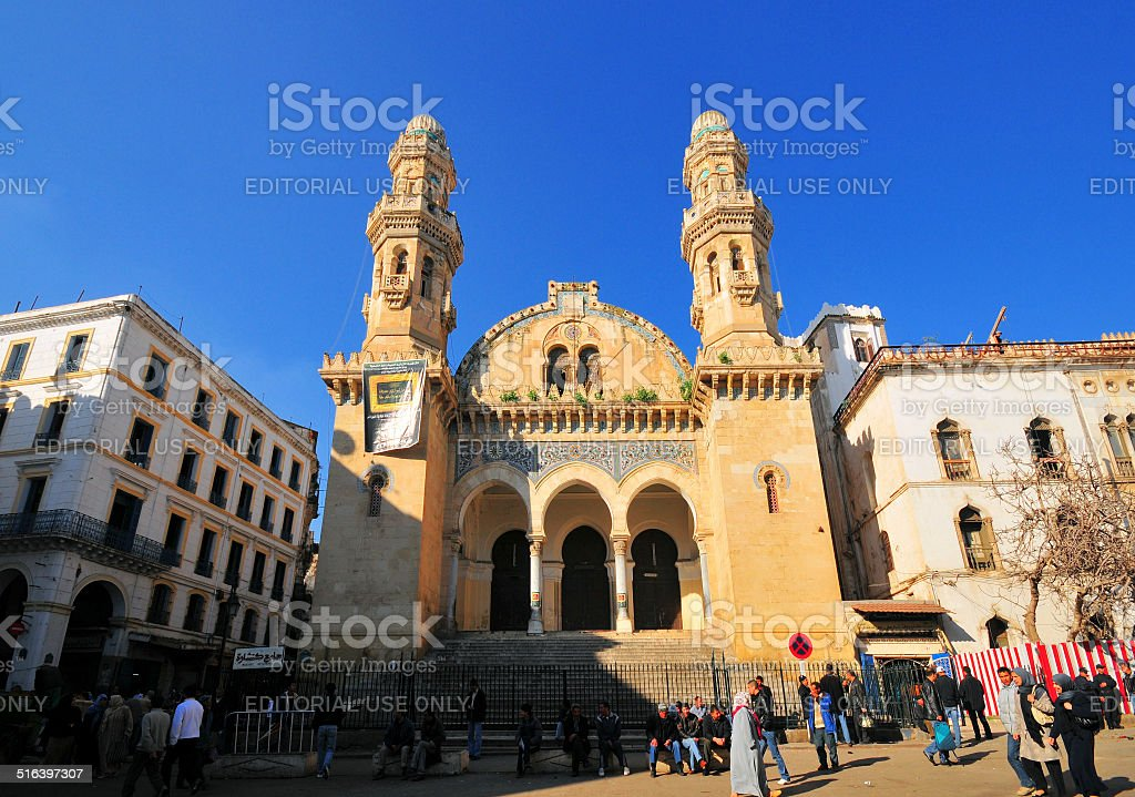 Algiers, Algeria: Ketchaoua mosque stock photo