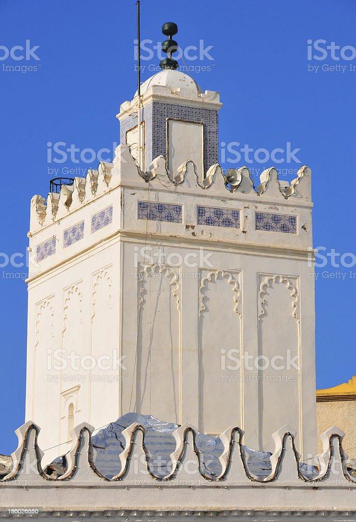 Algiers, Algeria: minaret of the Grand Mosque stock photo