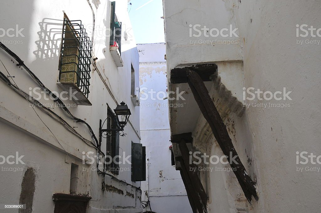 Algiers casbah royalty-free stock photo