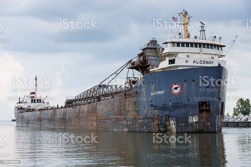 Algoway In Cleveland stock photo