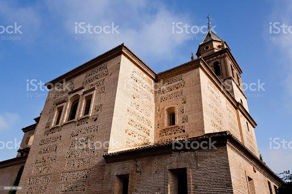 Alhambra Church Of Saint Mary stock photo