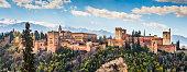 Alhambra de Granada, Andalusia, Spain