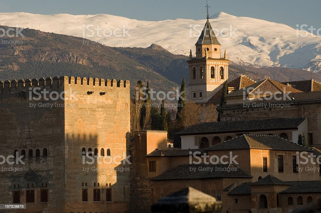 Alhambra, Granada royalty-free stock photo
