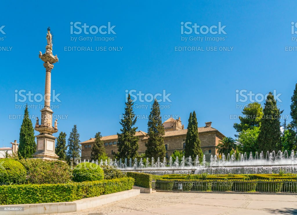 Alhambra, Granada stock photo