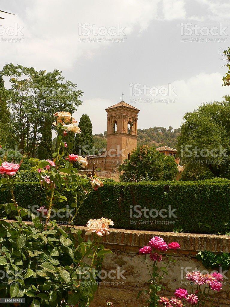 Alhambra, Granada, Spain royalty-free stock photo
