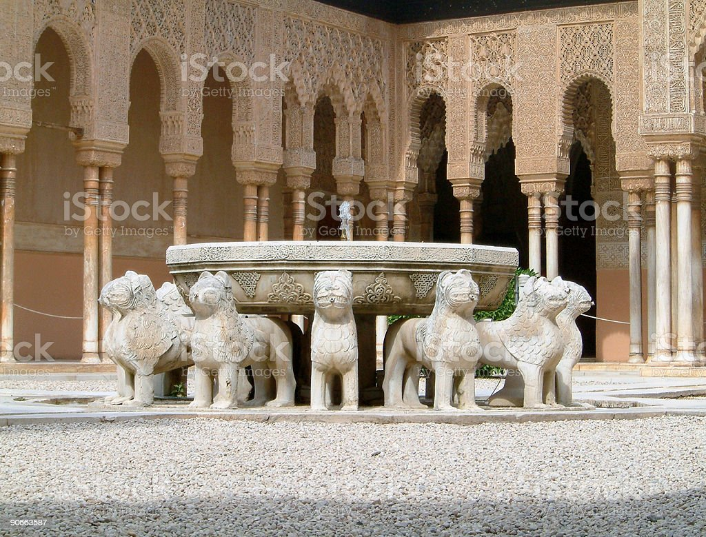 Alhambra, Granada, Spain stock photo