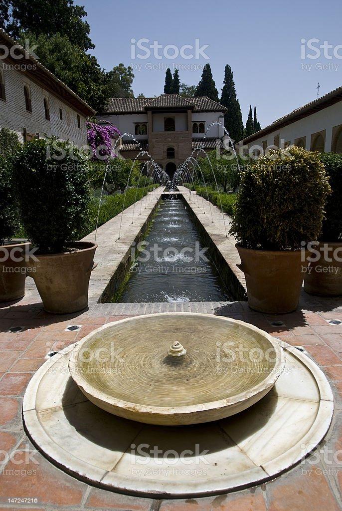 Alhambra Palace royalty-free stock photo