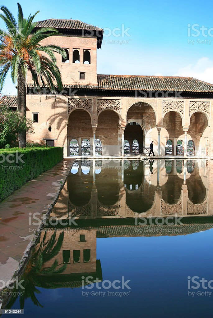 Alhambra Palace royalty-free stock photo