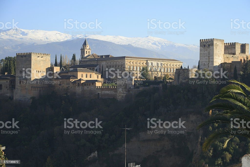 Alhambra royalty-free stock photo