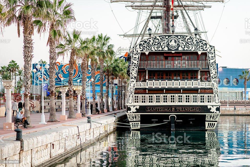 Alicante city stock photo