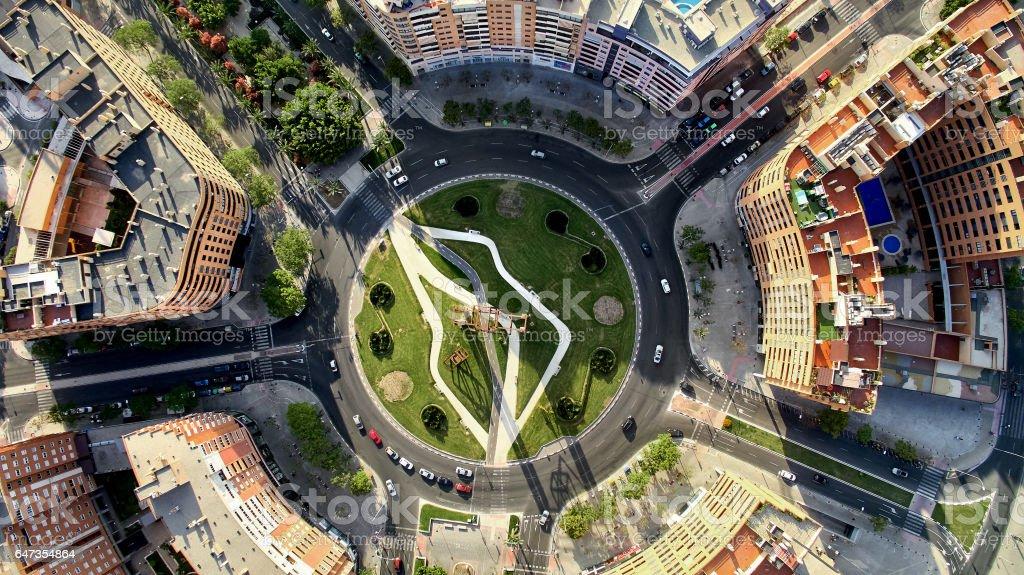 Alicante cityscape. Spain stock photo