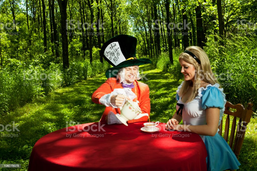Alice in Wonderland stock photo