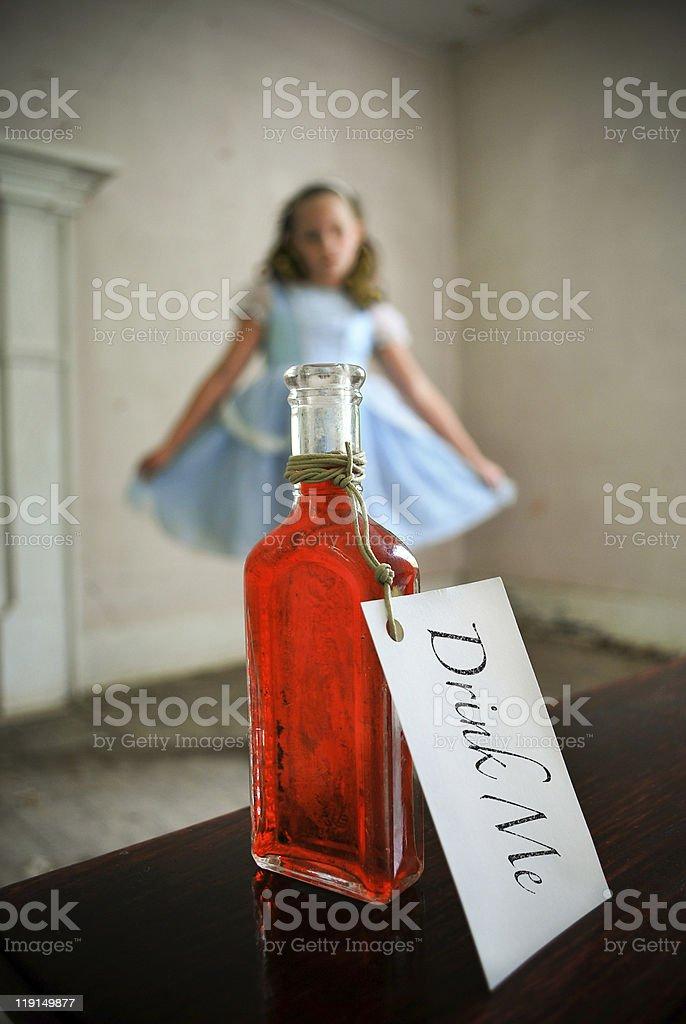 Alice In Wonderland stock photo