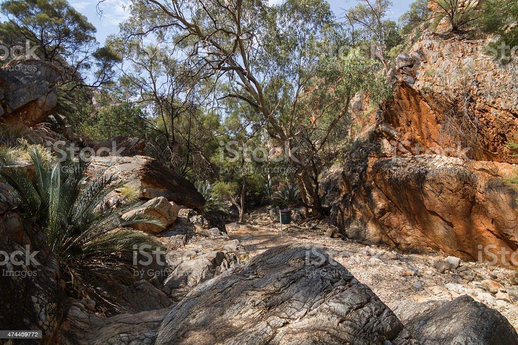 Alice Springs in Northern Territory, Australia stock photo