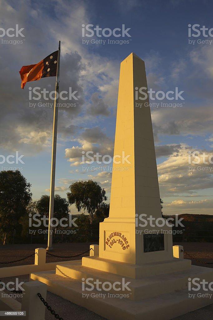 Alice Springs royalty-free stock photo