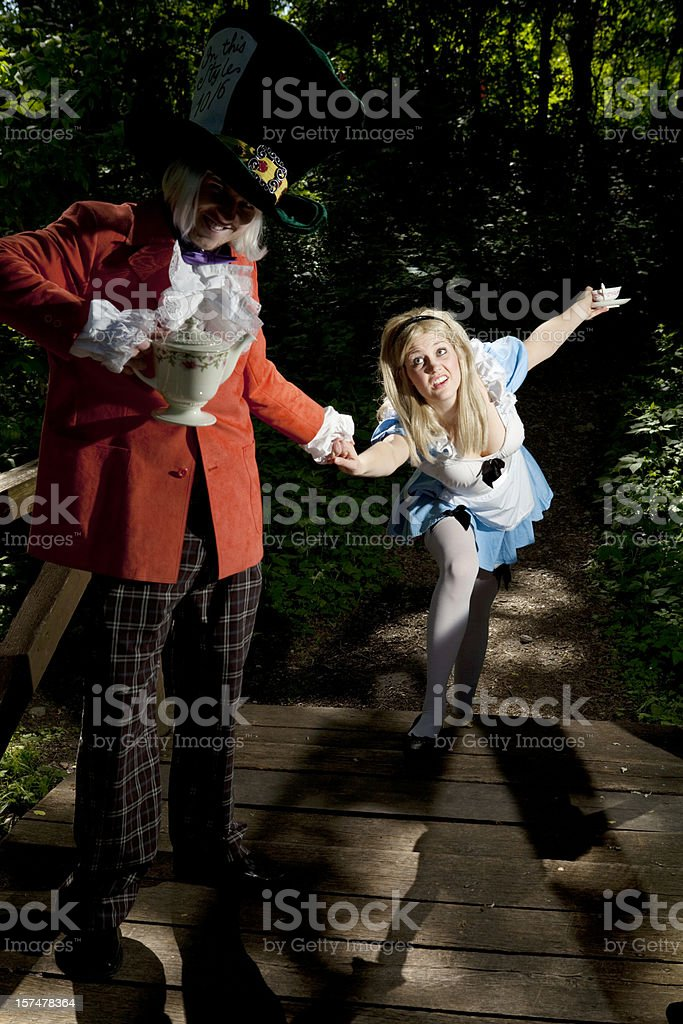 Alice's Kidnapping royalty-free stock photo