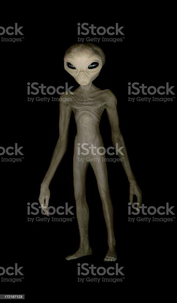 Alien 01 royalty-free stock photo