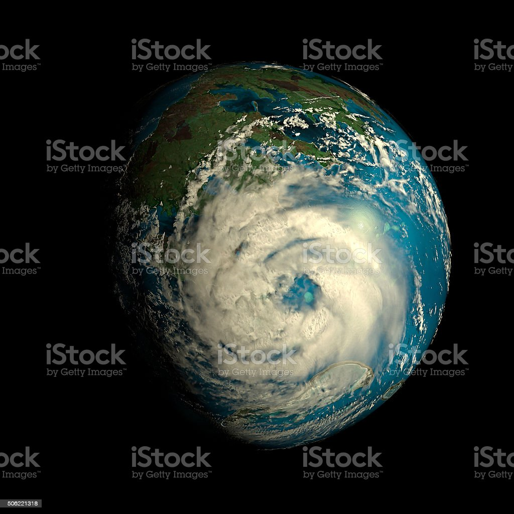 Alien Exo Planet stock photo