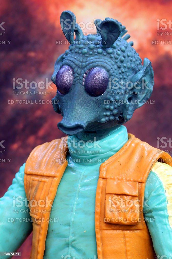 Alien Hunter stock photo