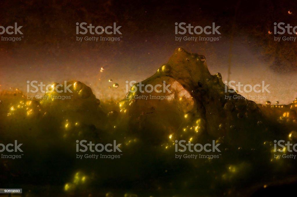 Alien landscape 1 royalty-free stock photo