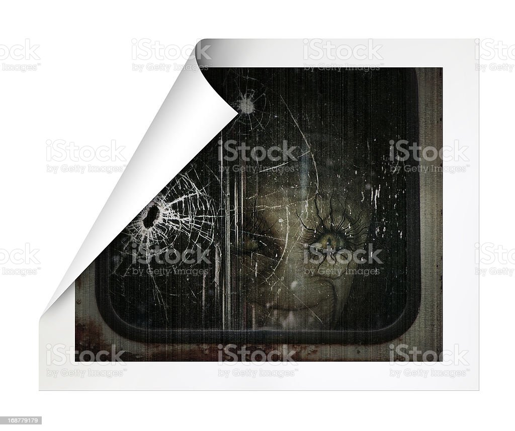 Alien royalty-free stock photo